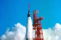 Start rakiety Atlas z pojazdem Merkury (NASA)