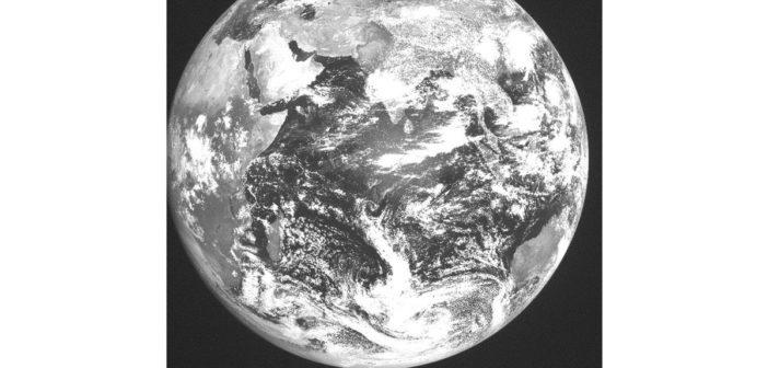 Pierwsze zdjęcie z INSAT 3DR / Credits - ISRO