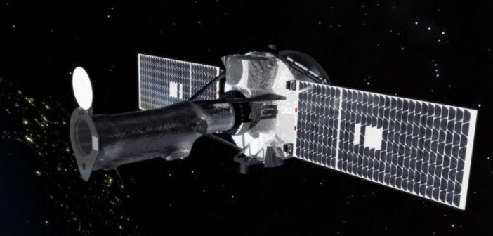 IRIS na orbicie - wizualizacja / Credit: NASA
