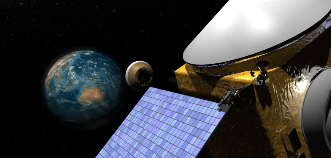 Odłączenie kapsuły SRC od sondy OSIRIS-REx - wizualizacja / Credit: NASA