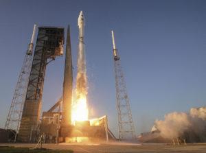 Start rakiety Atlas V/411 z sondą OSIRIS-REx, 8 września 2016 / Credit: ULA
