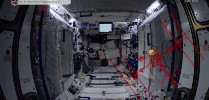 Wnętrze ISS w 4K / Credits - NASA