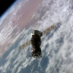 Sojuz MS-02 zbliża się do ISS / Credits - NASA TV