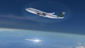 Boeing 747 uwalnia LauncherOne / Credits - Virgin Galactic