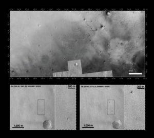 Obrazy przesłane z MRO / Credits - NASA/JPL-Caltech/MSSS