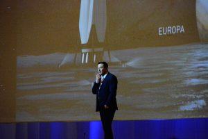 Elon Musk na IAC 2016 przedstawia ITS / Credits - Blue Dot Solutions