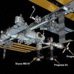 Konfiuguracja ISS we wrześniu i październiku 2016 / Credits - NASA