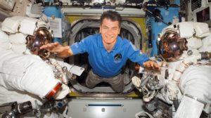 Paolo Nespoli na pokładzie ISS / ESA