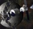 Wizja artystyczna habitatu na orbicie wokółksiężycowej (Lockheed Martin)
