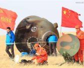 Złe lądowanie Shenzhou-11?