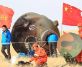 Załoga Shenzhou 11 powróciła na Ziemię