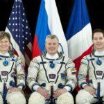 Załoga Sojuza MS-03 /Credits - NASA