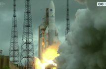 Start rakiety Ariane 5 z 21 grudnia 2016 / Credits - Arianespace