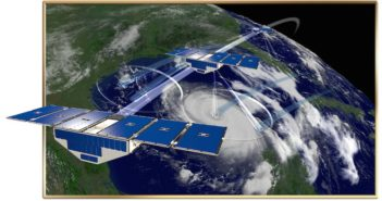 Satelity CYGNSS / Credits - NASA