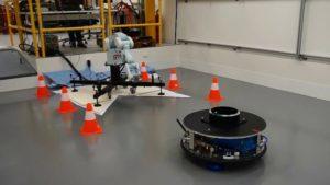 Fragment laboratorium w ESTEC do symulowania warunków braku grawitacji, źródło: ESA