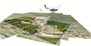 Dron firmy Mavinci w trybie obrazowania połaci terenów / Źródło: Mavinci