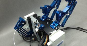Prototyp chwytaka do łapania śmieci kosmicznych wyprodukowanego w PIAP, źródło: PIAP