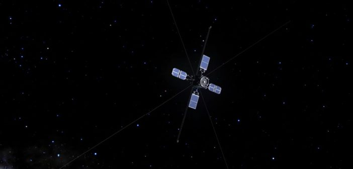 Satelita ERG / Credits - JAXA
