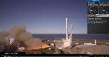 Start Falcona 9R - 14.01.2017 / Credits - SpaceX
