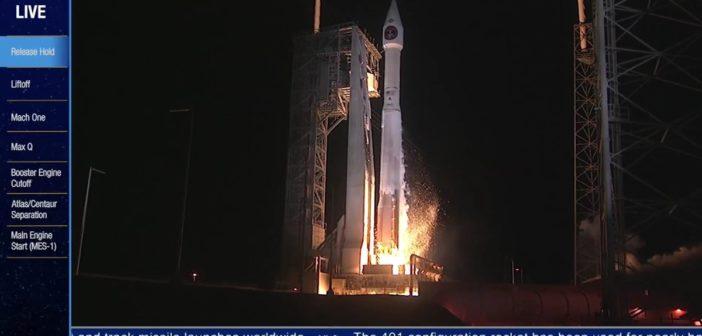 Start Atlasa 5 z SPIRS-GEO-3 / Credits - ULA