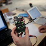 CanSat podczas testów i integracji. Źródło: Dario Cruz/ESA/Cansats in Europe