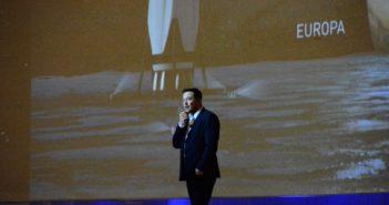 Elon Musk na IAC 2016 mówi o Europie (a tam Kosmonauta.net i Blue Dot Solutions) / Credits - K. Kanawka, Blue Dot Solutions