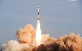 Start rakiety Kuaizhou-1A, 9 stycznia 2017 / Credit: Xinhua, www.news.cn