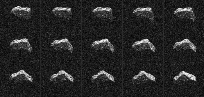 Planetoida 2017 BQ6 z obserwacji Goldstone / Credits - NASA/JPL-Caltech/GSSR