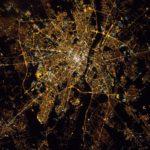 Warszawa z ISS - 25 stycznia 2017 / Credits - Thomas Pesquet, ESA
