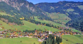 Wioska Alpbach, gdzie odbywa się Letnia Szkoła ESA/ Źródło: Wikipedia