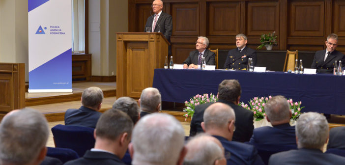 Uroczysta inauguracja na kierunku Technologie Kosmiczne i Satelitarne. Fot. K. Krzempek