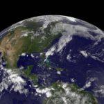 Widok na zachodnią część północnego Oceanu Atlantyckiego / Credits - NASA