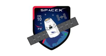 Logo misji CRS-10 / Credits - SpaceX