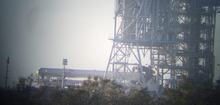 Falcon 9 już na platformie LC-39A