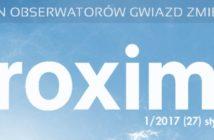 Proxima 1/2017 / Credits - proxima.org.pl