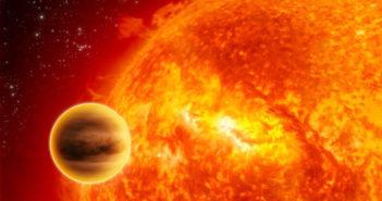 Starzejące się gwiazdy mogą odpowiadać za rozmiary gorących Jowiszów