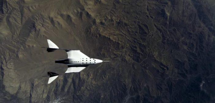 Trzeci lot ślizgowy VSS Unity / Credits - Virgin Galactic