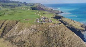 Stanowisko startowe rakiet Electron na półwyspie Mahia w Nowej Zelandii / Źródło: Rocket Lab