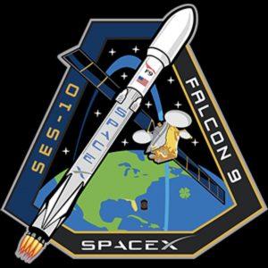 Logo misji SES-10 / Źródło: SpaceX
