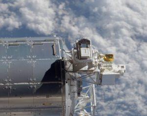 Eksperyment Solar na module Columbus / Źródło: ESA