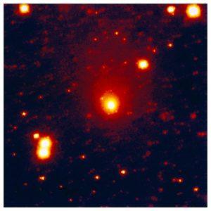 Zdjęcie komety z sierpnia 1996 z telekopu La Silla w Chile / Credits - ESO