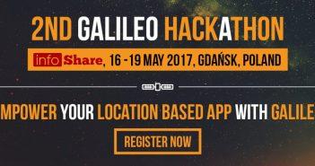 Galileo Hackathon: otwarta rejestracja