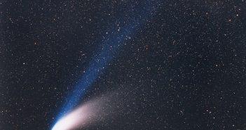 Zdjęcie komety C/1995 O1 Hale-Bopp z 14 marca 1997 / Credits - ESO, E. Slawik
