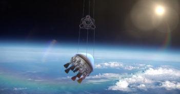 Firma Zero 2 Infinity wystrzeliła swoją pierwszą rakietę ze stratosfery