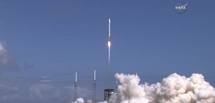 Start rakiety Atlas 5 do misji OA-7 / Credits - NASA TV