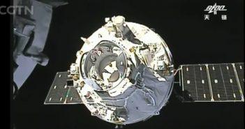 TZ-1 cumuje do TG-2 / Credits - CGTV