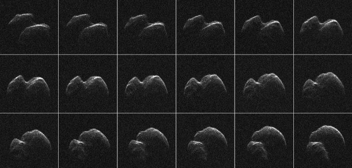 Obrazy 2014 JO25 / Credits - NASA/JPL-Caltech/GSSR