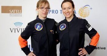 Dwie kandydatki na niemiecką astronautkę