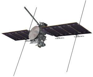 Grafika prezentująca jedną z możliwych wersji sondy Europa Clipper / Credits - NASA