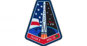 Logo misji NROL-76 / Credits - SpaceX